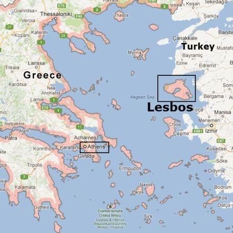 Кто живет на острове Лесбос